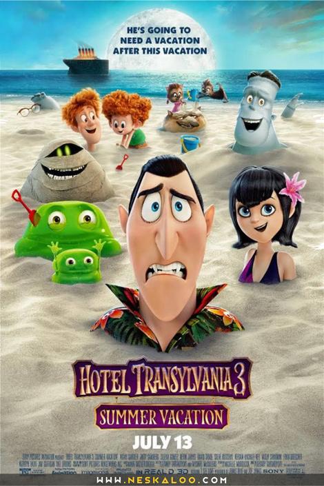 دانلود فیلم Hotel Transylvania 3 Summer Vacation