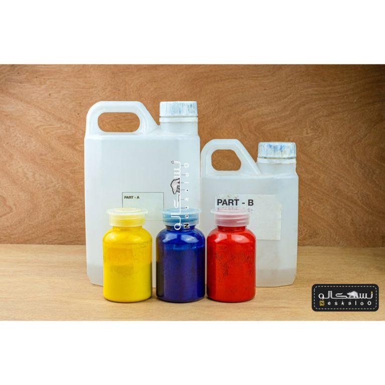 رزین اپوکسی شفاف کره ای + هاردنر