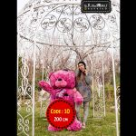 عروسک خرس ولنتاین سایز بزرگ-۱۰