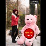 عروسک خرس ولنتاین سایز بزرگ-۲