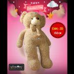 عروسک خرس ولنتاین سایز بزرگ-۲۰