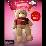 عروسک خرس ولنتاین سایز بزرگ-۲۱