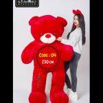 عروسک خرس ولنتاین سایز بزرگ-۴
