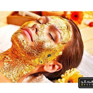 ماسک طلا 24 عیار ایتالیایی
