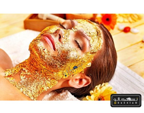 ماسک طلا ۲۴ عیار ایتالیایی