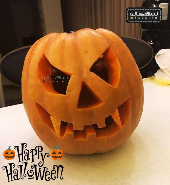 کدو هالووین بزرگ