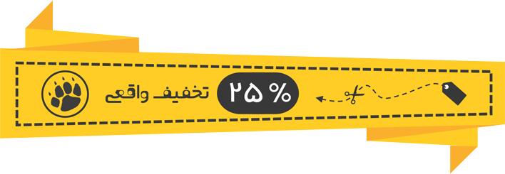 25 درصد تخفیف