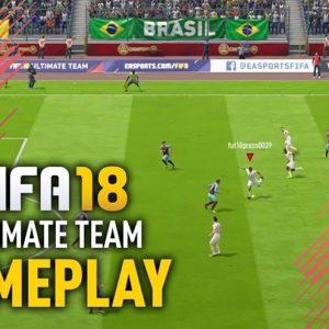 گیم پلی بازی FIFA 18