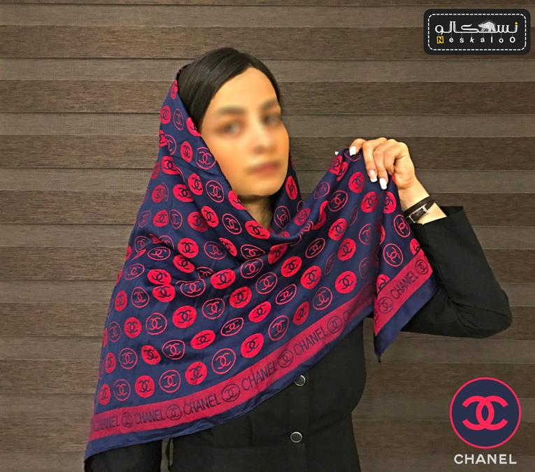 روسری 2 رو CHANEL